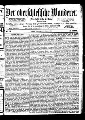 ˜Derœ Oberschlesische Wanderer vom 14.12.1899