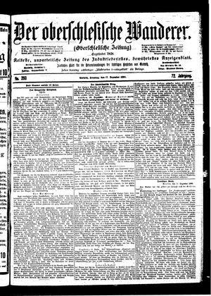 ˜Derœ Oberschlesische Wanderer vom 17.12.1899