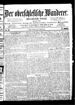 ˜Derœ Oberschlesische Wanderer vom 19.12.1899