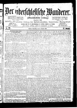 ˜Derœ Oberschlesische Wanderer vom 21.12.1899