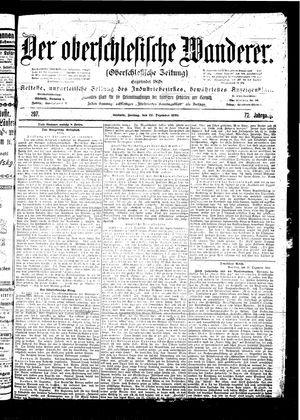 ˜Derœ Oberschlesische Wanderer vom 22.12.1899