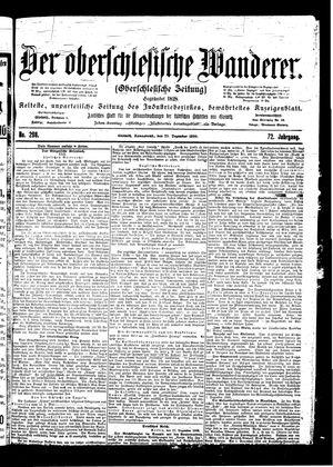 ˜Derœ Oberschlesische Wanderer vom 23.12.1899
