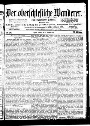 ˜Derœ Oberschlesische Wanderer vom 24.12.1899