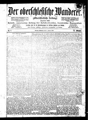 ˜Derœ Oberschlesische Wanderer vom 03.01.1900