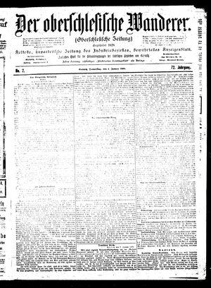 ˜Derœ Oberschlesische Wanderer vom 04.01.1900