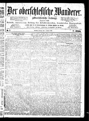 ˜Derœ Oberschlesische Wanderer vom 05.01.1900