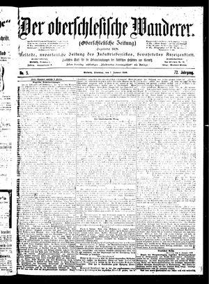 ˜Derœ Oberschlesische Wanderer vom 07.01.1900
