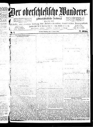 ˜Derœ Oberschlesische Wanderer vom 14.01.1900