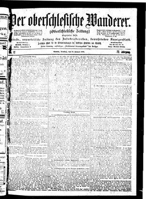 ˜Derœ Oberschlesische Wanderer vom 16.01.1900