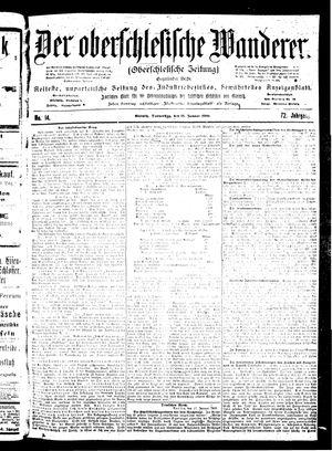 ˜Derœ Oberschlesische Wanderer vom 18.01.1900