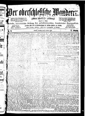 ˜Derœ Oberschlesische Wanderer vom 23.01.1900