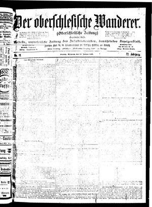 ˜Derœ Oberschlesische Wanderer vom 24.01.1900