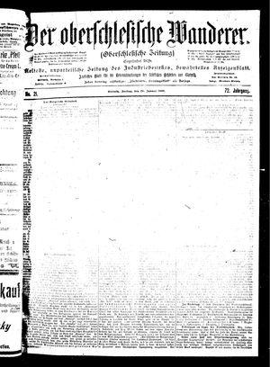 ˜Derœ Oberschlesische Wanderer vom 26.01.1900