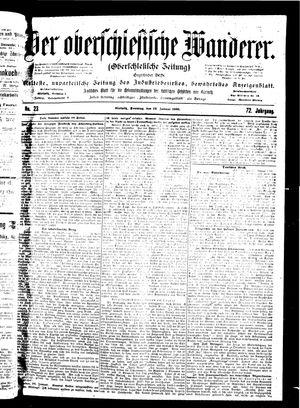 ˜Derœ Oberschlesische Wanderer vom 28.01.1900