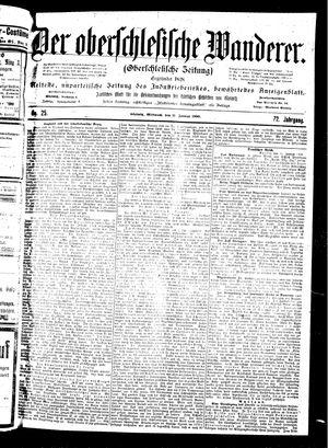 ˜Derœ Oberschlesische Wanderer vom 31.01.1900