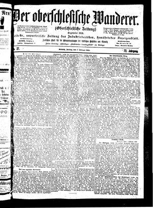 ˜Derœ Oberschlesische Wanderer vom 02.02.1900