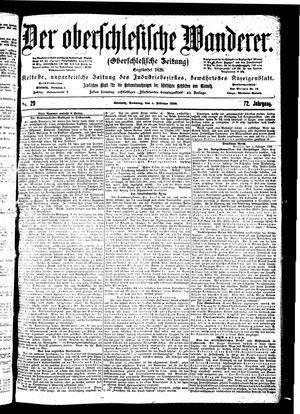 ˜Derœ Oberschlesische Wanderer vom 04.02.1900