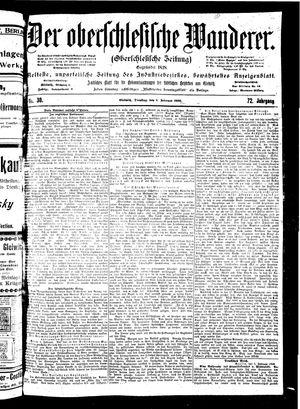 ˜Derœ Oberschlesische Wanderer vom 06.02.1900