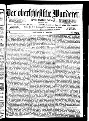 ˜Derœ Oberschlesische Wanderer vom 08.02.1900