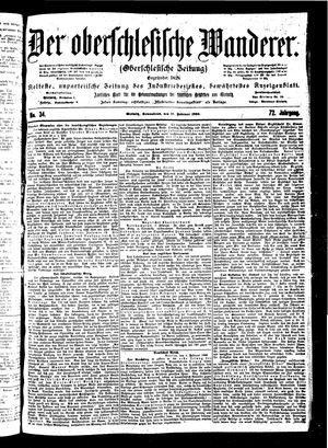 ˜Derœ Oberschlesische Wanderer vom 10.02.1900