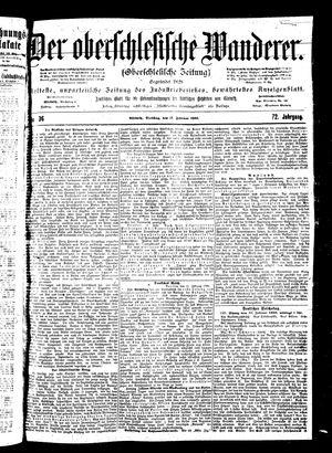 ˜Derœ Oberschlesische Wanderer vom 13.02.1900