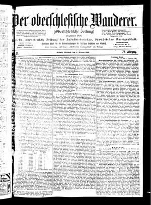 ˜Derœ Oberschlesische Wanderer vom 14.02.1900