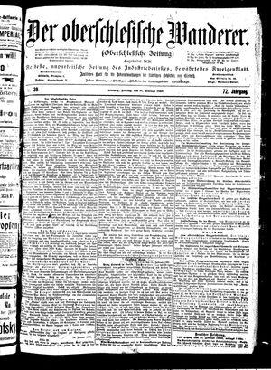 ˜Derœ Oberschlesische Wanderer vom 16.02.1900