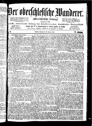 ˜Derœ Oberschlesische Wanderer vom 18.02.1900