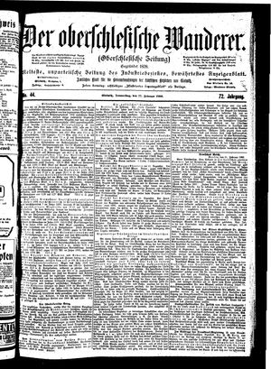 ˜Derœ Oberschlesische Wanderer vom 22.02.1900