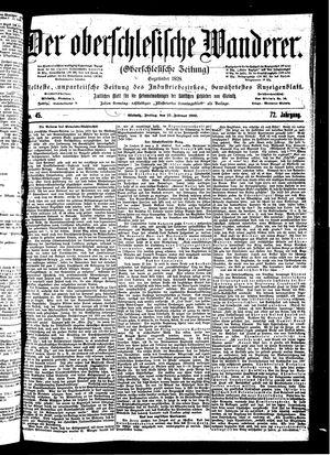 ˜Derœ Oberschlesische Wanderer vom 23.02.1900