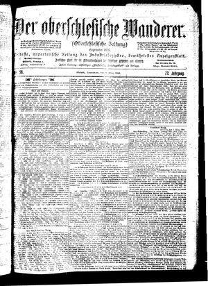 ˜Derœ Oberschlesische Wanderer vom 10.03.1900