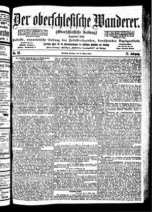 ˜Derœ Oberschlesische Wanderer vom 16.03.1900