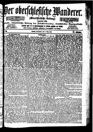˜Derœ Oberschlesische Wanderer vom 17.03.1900