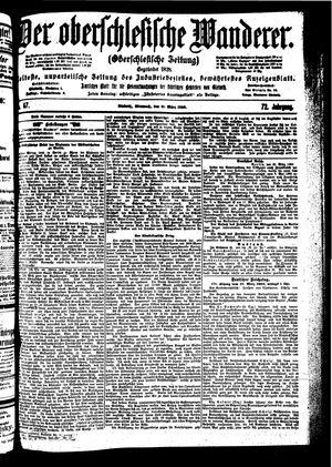 ˜Derœ Oberschlesische Wanderer vom 21.03.1900