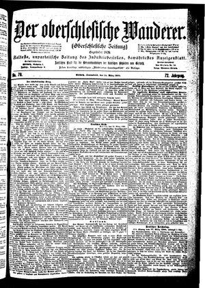 ˜Derœ Oberschlesische Wanderer vom 24.03.1900