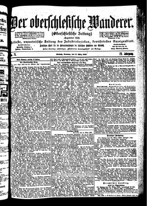 ˜Derœ Oberschlesische Wanderer vom 25.03.1900