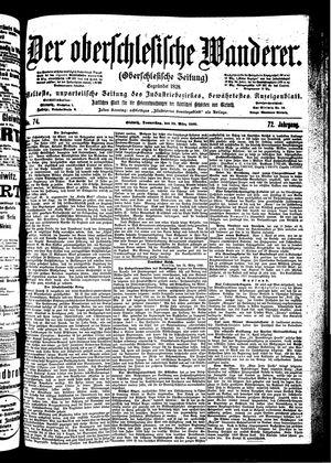 ˜Derœ Oberschlesische Wanderer vom 29.03.1900