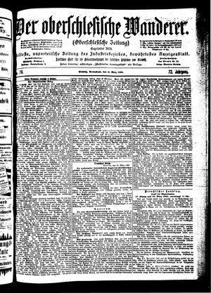 ˜Derœ Oberschlesische Wanderer vom 31.03.1900