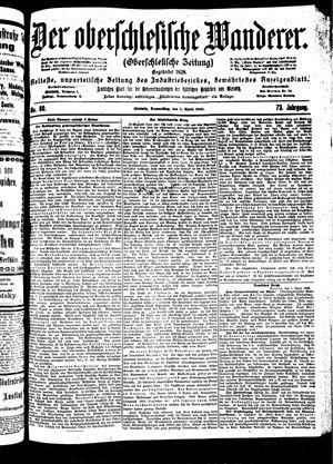 ˜Derœ Oberschlesische Wanderer vom 05.04.1900