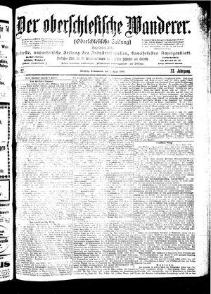 ˜Derœ Oberschlesische Wanderer vom 07.04.1900
