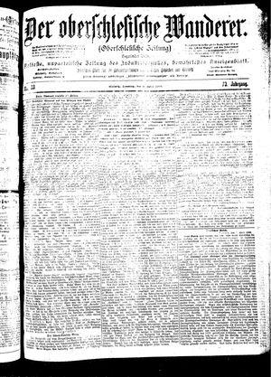 ˜Derœ Oberschlesische Wanderer vom 08.04.1900