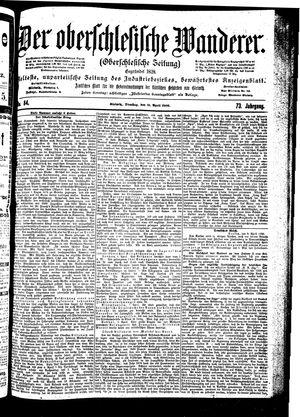 ˜Derœ Oberschlesische Wanderer vom 10.04.1900