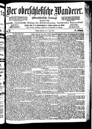 ˜Derœ Oberschlesische Wanderer vom 11.04.1900