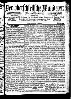 ˜Derœ Oberschlesische Wanderer vom 12.04.1900
