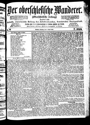 ˜Derœ Oberschlesische Wanderer vom 15.04.1900