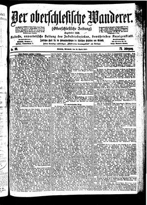 ˜Derœ Oberschlesische Wanderer vom 18.04.1900