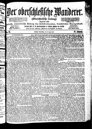 ˜Derœ Oberschlesische Wanderer vom 19.04.1900