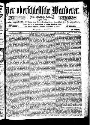 ˜Derœ Oberschlesische Wanderer vom 20.04.1900