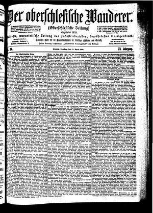 ˜Derœ Oberschlesische Wanderer vom 24.04.1900
