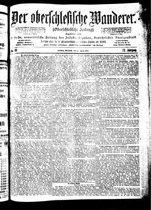˜Derœ Oberschlesische Wanderer vom 25.04.1900